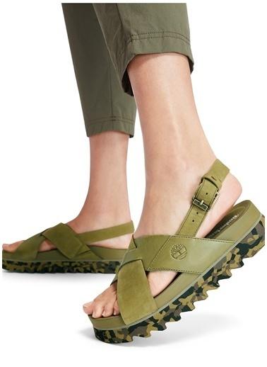 Timberland Timberland Kadın Yeşil Sandalet Yeşil